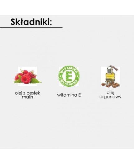 NOVA KOSMETYKI Głęboko Odżywiający Olejek do Ciała GoArgan+ MALINA 100ml