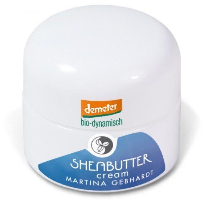 Martina Gebhardt SHEA Krem z masłem shea do cery wrażliwej i alergicznej 15 ml