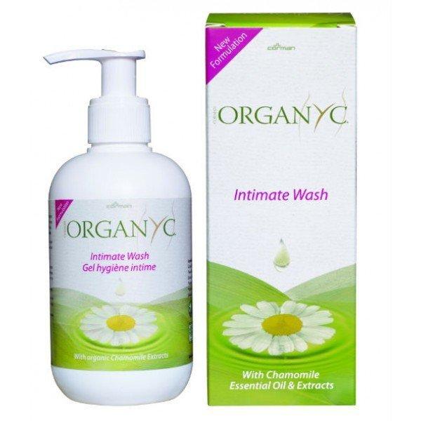 Organyc Płyn do higieny intymnej 250ml