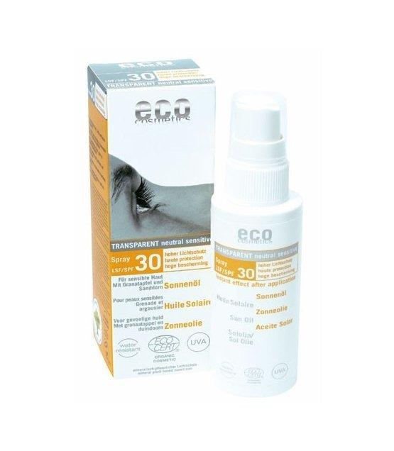 eco cosmetics olejek na słońce SPF 30