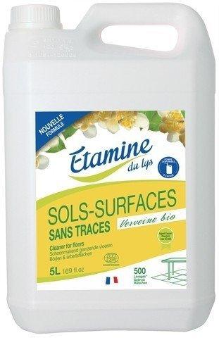 EDL Etamine Du Lys koncentrat do mycia podłóg i powierzchni użytkowych organiczna werbena karnister 5l