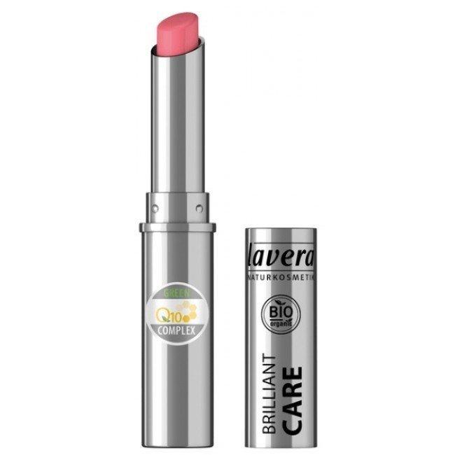 Lavera BEAUTIFUL LIPS Szminka pielęgnacyjna Q10 - 02 różowy truskawkowy