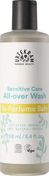 Urtekram Płyn do mycia ciała i włosów dla niemowląt neutralny zapachowo