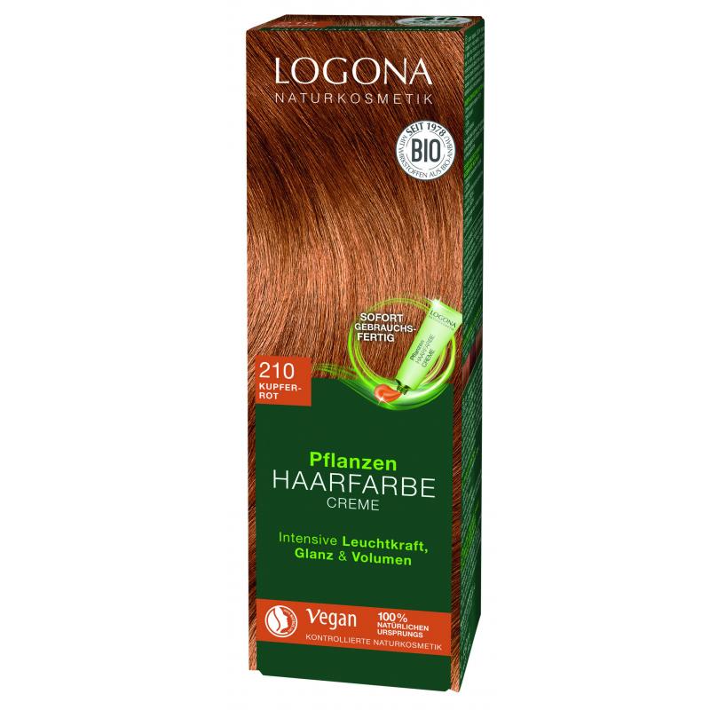 Logona Farba do włosów w kremie miedz