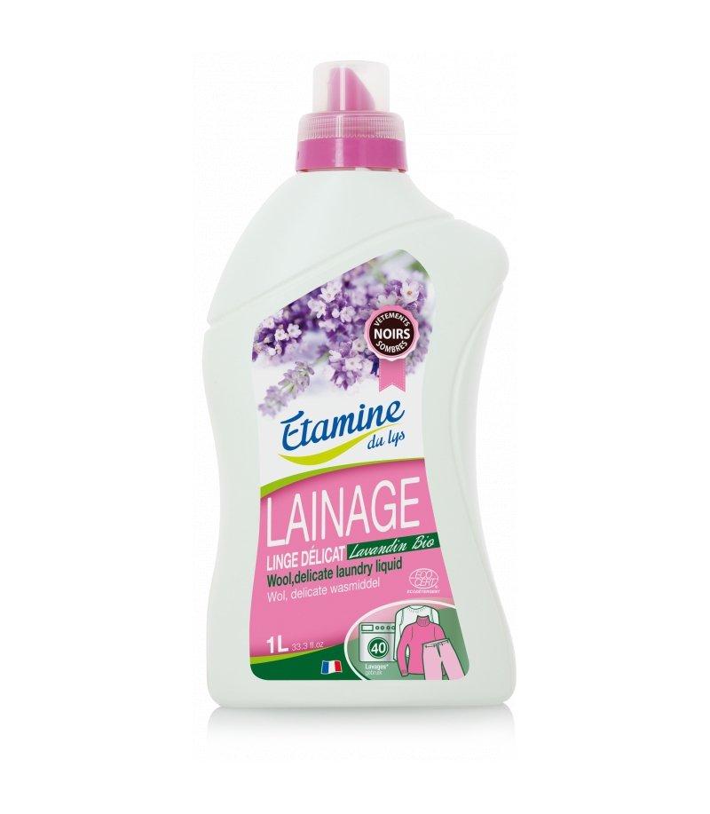Etamine Du Lys płyn do prania delikatnych tkanin i wełny organiczna lawenda 1 l