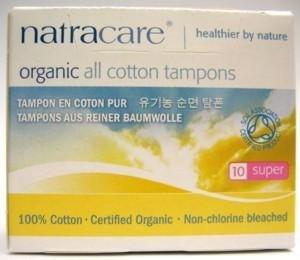 Natracare ekologiczne tampony higieniczne super 10 szt