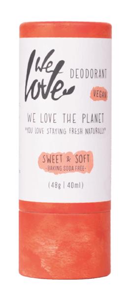 We Love the Planet Dezodorant w sztyfcie SWEET & SOFT 48 g