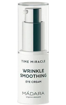 Madara Time Miracle Wrinkle Smoothing zaawansowany krem przeciwzmarszczkowy pod oczy 15 ml