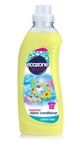 ECOZONE płyn do płukania tkanin HAPPINESS 1L, 37 prań