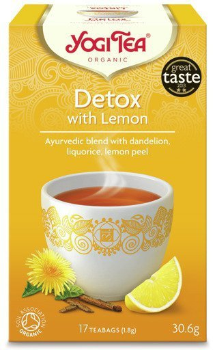 Yogi Tea Detox z cytryną DETOX WITH LEMON