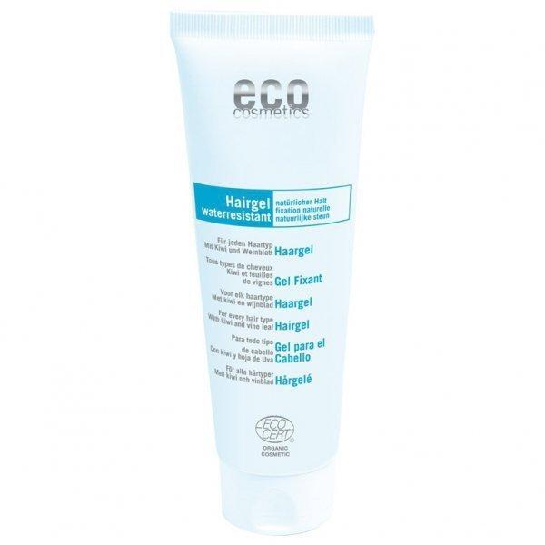 eco cosmetics Żel do układania włosów z kiwi i liściem oliwnym, 125 ml