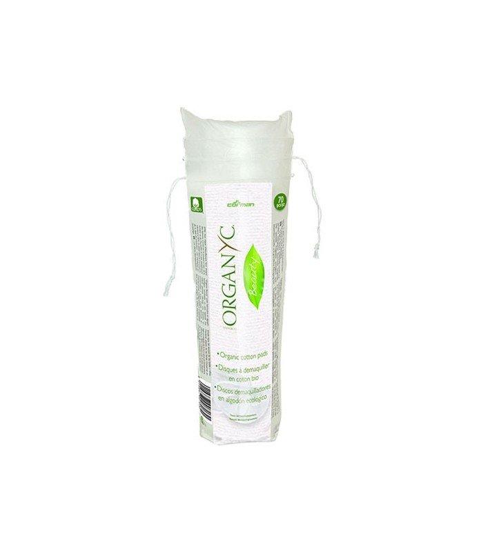 Organyc ekologiczne płatki kosmetyczne z bio-bawełny 70 szt