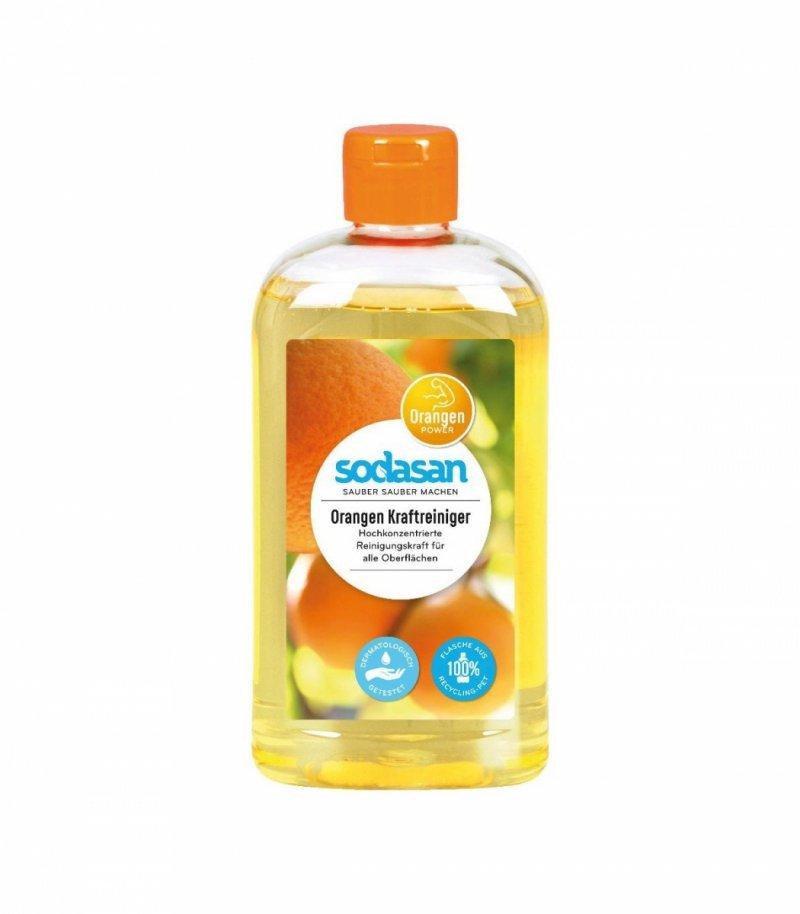Sodasan Uniwersalny środek do czyszczenia na bazie olejku z pomarańczy 0,5l