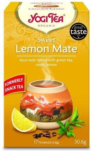 YOGI TEA® Ajurwedyjska herbata SŁODKA CYTRYNOWA MATE (Sweet Lemon Mate)