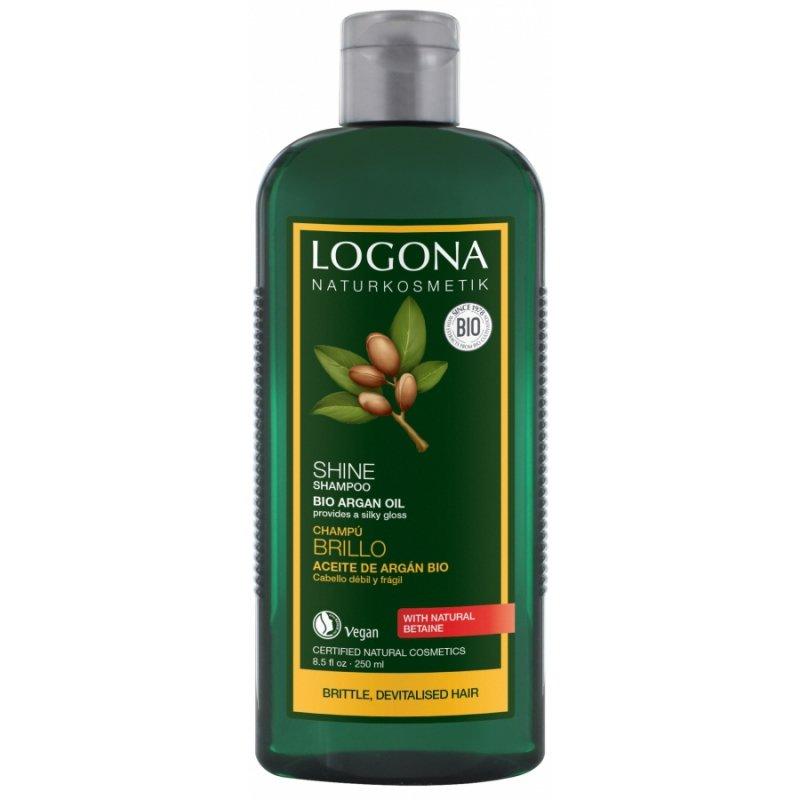 Logona Szampon nadajacy połysk z bio-olejem arganowym 250 ml