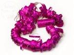 Serpentyna holograficzna 18 rolek różowa