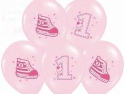 Balony 14cali różowe Trampek nr 1