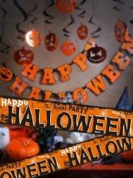 Taśma  Happy Halloween 10cmx6m 1szt