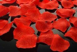 Płatki róż w woreczku 500 szt czerwone PLRD500-007
