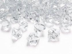 Kryszałowy lód bezbarwny 25x21mm