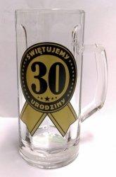 Kufel do piwa na 30 urodziny
