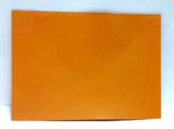 Koperta w kolorze pomarańczowym 17,5 x 12,5 cm