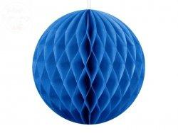Kula bibułowa niebieski 10 cm