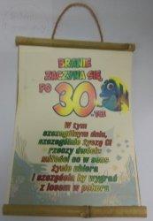 Dyplom bambus Branie zaczyna się po 30-tce