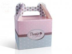 Pudełko weselne ozdobne na ciasto 1szt PUDCSM2