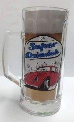 Kufel szklany Super dziadek