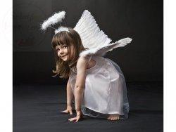 Sukienka aniołek z tiulem 3-6lat 1szt CTM4