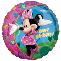Balon foliowy Minnie Happy B-day