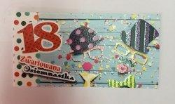 Zaproszenie  na 18 urodziny Zwariowana osiemnastka