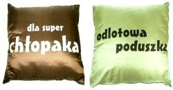 Poduszka satynowa  Dla Super Chłopaka