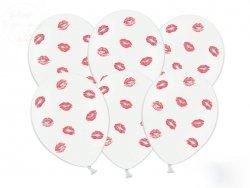 Balony  Usta czerwone  30cm - 1szt