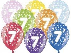 Balony 14 cali mix kolor metalik 7