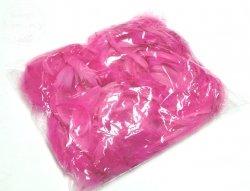 Piórka w woreczku różowe 1 op
