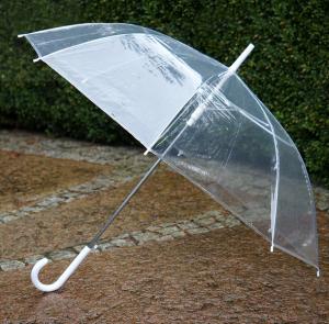 Parasolka transparentna - przezroczysta  727