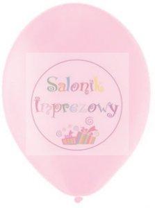 Balony 10 cali jasno-różowe pastelowe 1szt