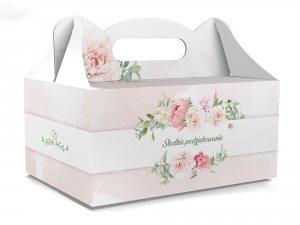 Pudełko na ciasto Słodkie podziękowanie 1szt