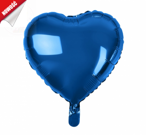 Balon foliowy serce granatowe 18 cali