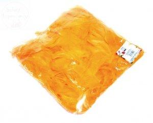 Piórka w woreczku pomarańczowe 1 op