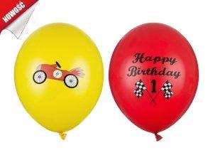 Balony Happy birthday mix