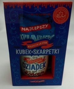 Kubek + Skarpety dla Dziadka dzień Babci i dziadka