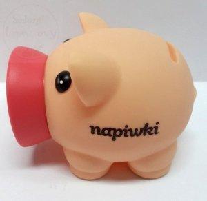 Skarbonka Mini PIGGY  - napiwki