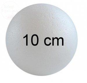 Kula styropianowa śr. 10 cm