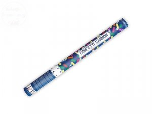 Tuba  strzelająca kolorowym konfetti i serpentynam