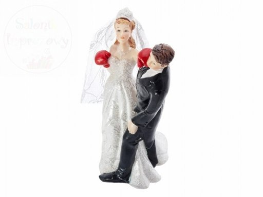 Figurka Panna Młoda boksująca 14cm PF32
