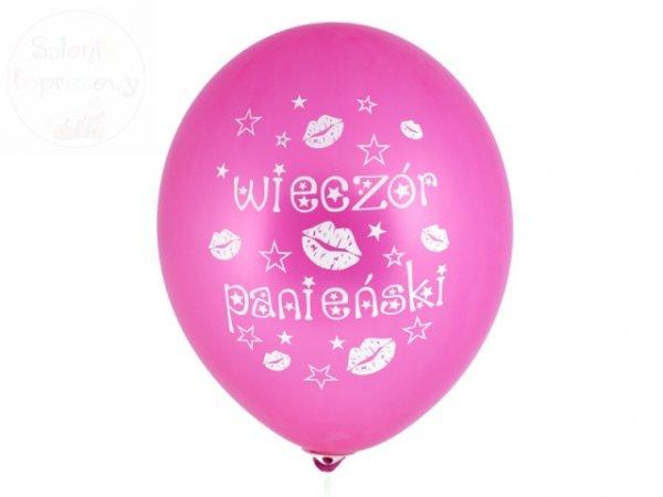 """Balony 14"""" różowy wieczór panieński 1 szt"""