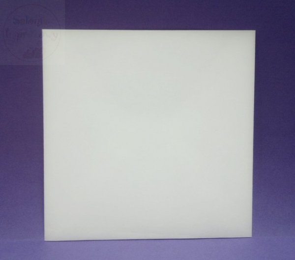 Koperta 140x140 mm w kolorze kremowym